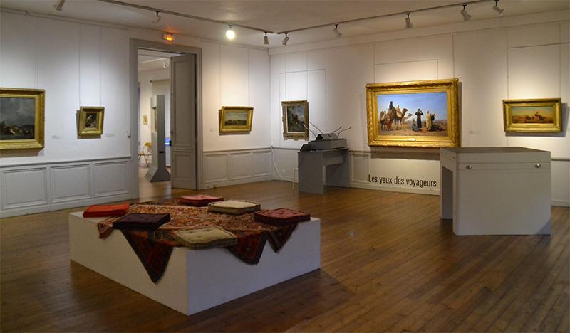 Une des cinq expos : Voir et ne pas voir - Musée des Beaux-Arts