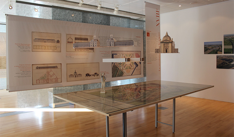 Musée Hebre de Saint-Clément à Rochefort - Une des cinq expos :  Rêves de ville