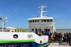 Liaison maritime Fouras - île d'Aix - Bateau Pierre Loti