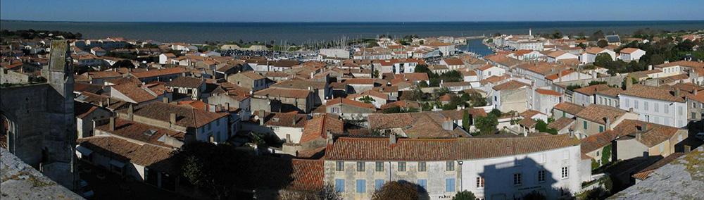 Vu panoramique de Saint-Martin-de-Ré