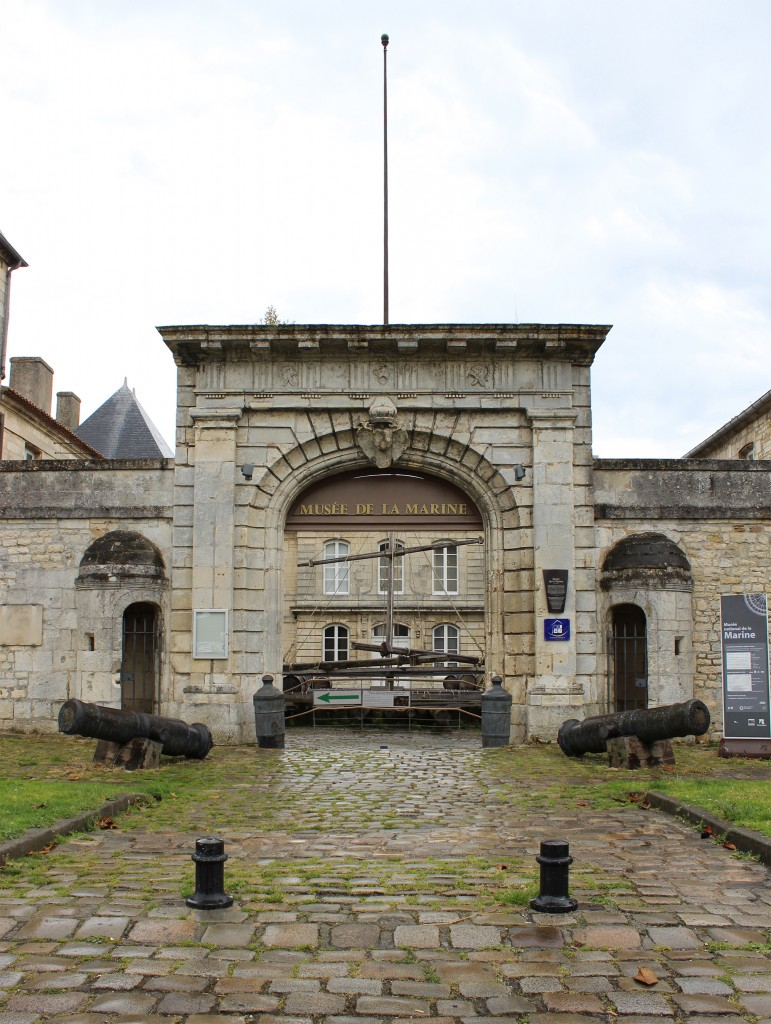 Entrée du Musée National de la Marine - Rochefort