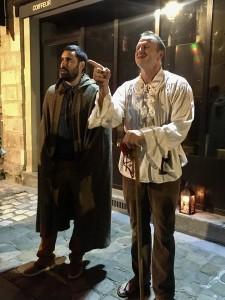 Jacques Le Guet et son acolyte de face